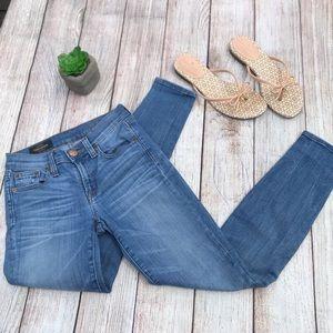 Women's J.Crew Reid Ankle cropped Jeans size 0